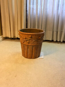 "3 - 12"" Decorative heavy duty outdoor garden pots $7.00 each Cambridge Kitchener Area image 2"