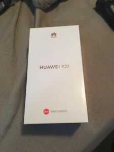 BRAND NEW Huawei P20 128gb **SEALED IN BOX**