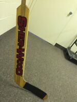 Sherwood hockey goalie stick like new