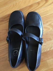 Rockport Mary Jane Black Shoes Size 9