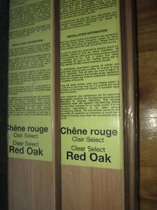 Red Oak Paneling - Clear Select, Tongue & Groove, Chêne Rouge West Island Greater Montréal image 2