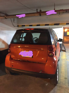 2008 Smart Fortwo Pure Coupe (2 door), non-drivable