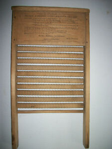 VERY RARE Mother Hubbard Roller Washboard