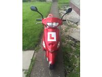 50cc scooter £350
