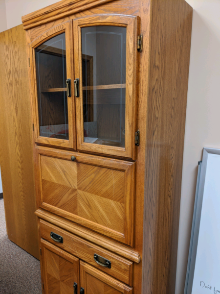 Display cabinet | Hutches & Display Cabinets | Red Deer ...