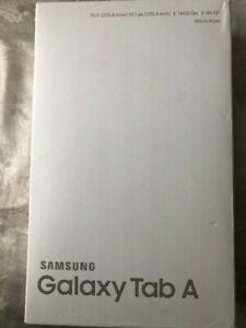 """New Open Box Samsung Galaxy Tab A10.1"""" 16GB Black Android Tablet"""