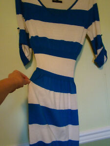 Super Cute & Flattering Cotton Blend Dress by Timing Size S