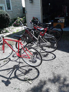 4 quality bikes for sale - PRICES REDUCED