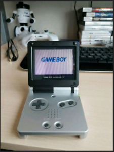 Gameboy Advance SP Platinum/Onyx