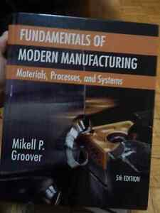 Fundamentals of Modern Manufacturing 5th Edition Textbook