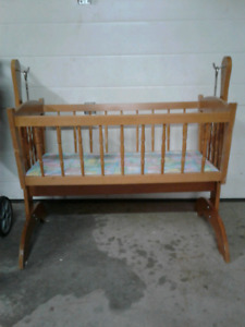 Baby crib and stroller