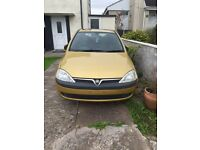 Vauxhall corsa 1.7 diesel spares and repairs