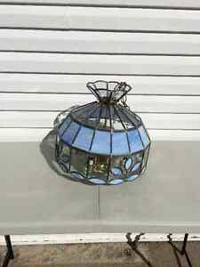 Handmade Stained Glass Light