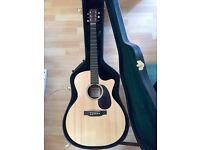Martin electro acoustic guitar