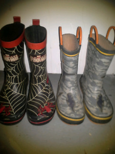 Boys rubber boots (10)