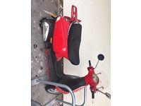 Vespa LX50 Automatic Red