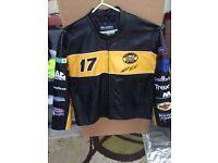Matt Kenseth nascar racing leather jacket