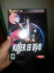 Killer is dead collector's edition ps3