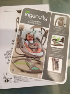 REDUCED !! Ingenuity ConvertMe Swing ( immaculate condition )