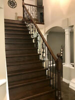 Tired of your carpeted stairs and your outdated railing?