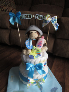 Baby Diaper Cakes and baby shower gifts