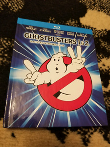 Ghostbusters 1 & 2 Blu Ray Mastered in 4k