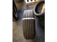 245 70 16 part worn tyre