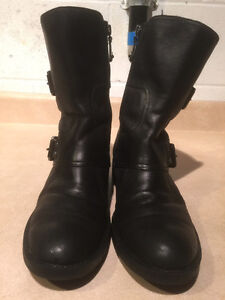 Women's Enzo Angiolini Leather Boots Size 8 London Ontario image 5