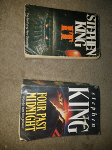 Stephen King books Hectorville Campbelltown Area Preview