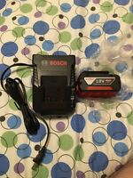 Bosch 18v 4Ah Battery and charger