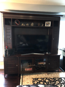 Beautiful entertainment console