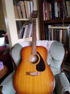 Yamaha F-310 Acoustic Electric Guitar/Hantsport area.