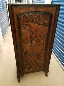 Hand carved Cabinet