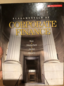 Fundamentals Of Corporate Finance Ninth Canadian Edition