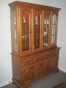 Elegant china cabinet