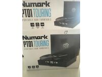 Numark Pro Touring Record Player with box