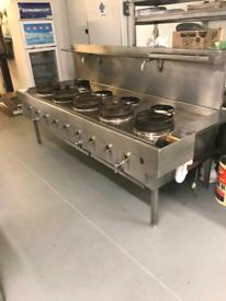 Chinese wok burner cooker