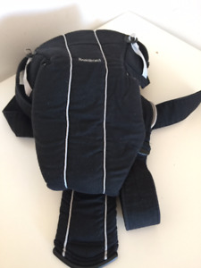 Navy color, Baby Bjorn Baby Carrier with back support straps