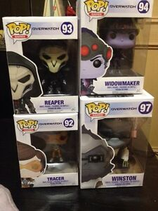 Overwatch funko pops ($55 for all) London Ontario image 1