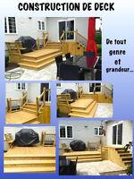 CONSTRUCTION ET RÉNOVATION DE TOUT GENRE