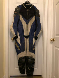Teknic One Piece Leather Racing Suit