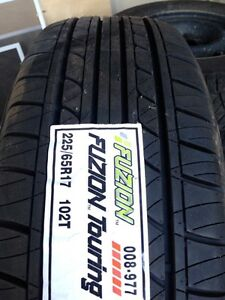 SUV tires - set of 4 brand new fuzion touring