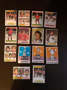 Auction Ends Tonight @ 8PM !! Hockey Cards