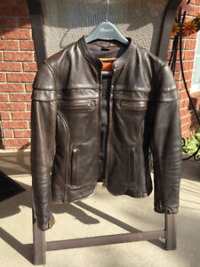 Small Motorcycle Leather Jacket