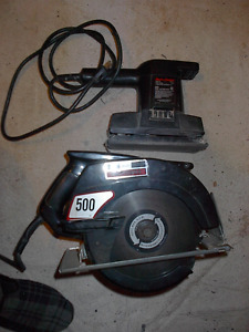 Craftsman Circular Saw AND Black & Decker Electric Sander