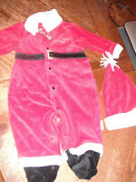 cute baby santa outfit 6-9 months