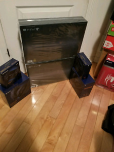 500 Million PS4 Pro Console & Dualshock & Gold Wireless Headset