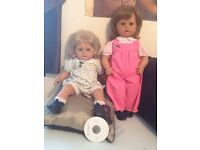 Zapf creation dolls from 80's,