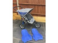 Instep Nipper double buggy