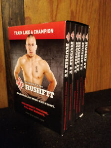 St. Pierre Rushfit DVD Workout Build Muscle Get in Shape